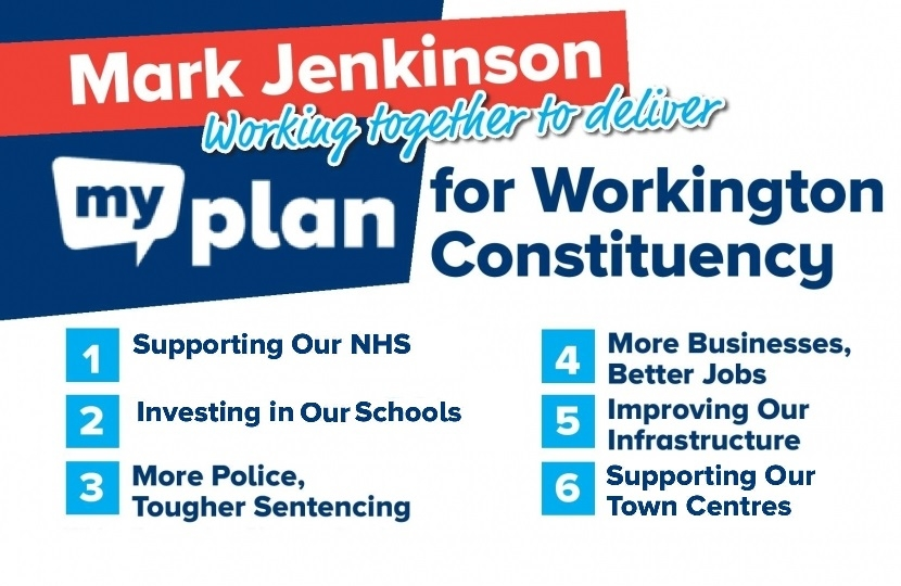 My plan for the Workington constituency