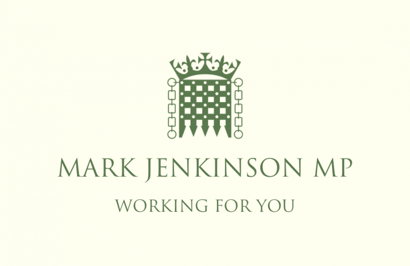 Mark Jenkinson MP